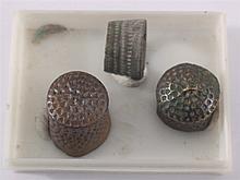 3 Römische Fingerhüte
