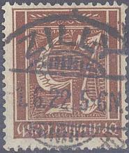 1922 DEUTSCHES REICH - INFLATION STEMPEL 'ZILLY'
