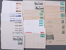 DDR 1955-1986 Bestand ungelaufener GanzsachenKW: 500-Euro!