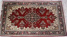Orient-Teppich Perser Ghom Seide Zertifikat
