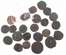 28 Antike Münzen Kreuzfahrer Frederico / Manfredo ss