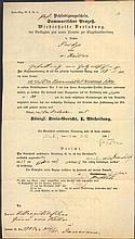 1865 PREUSSEN ADELSGESCHLECHT VON KÖLLER