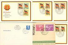1950/1967 DDR 2 bessere Ersttagsbriefe!