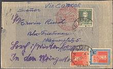 1934 ARGENTINIEN LuftpostERWIN RIESCHungewöhnliche Sendung