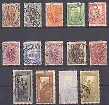 1901 Griechenland Freimarken: Hermes