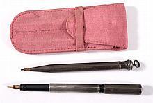 2 Schreibgeräte um 1900