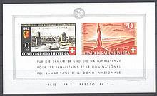 1942 Schweiz, Pro Patria Block, Michelnummer Block 7,