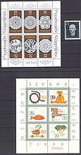 1958 DDR, 25+15 Pfennig Stoecker mit Plattenfehler II