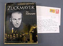 Zuckmayer, eine Bibliografie von Ludwig E. Reindel