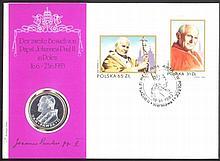 MOTIV Papst Johannes Paul der II., seltener NUMISBRIEF