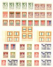 Schweiz 1913-1963,PRO JUVENTUTE Ausgaben:790,-Euro Katalogw.