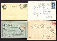 Triest, Beleg von 1898, Deutsches Reich, Privatpost