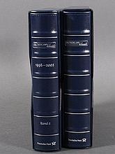 Bund 1996-2008,postfrische Sammlung,fast 400 Euro NOMINALE