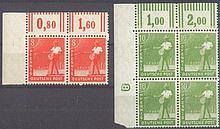 1947/1948 Alliierte Besetzung, 8 und 10 Pfennig Sämann