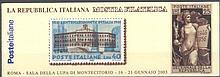 2003 Italien, MARKENHEFTCHEN 'Die Republik Italien'