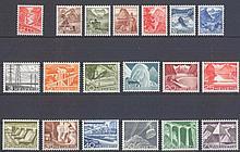 1934/1949 Schweiz, Landschaften, 2 Serien, 165,- Euro KW