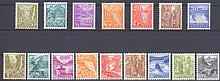 1934/1936 Schweiz, Landschaften, 2 Serien, 165,- Euro KW