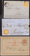 Württemberg 1859-1874, Rottweil, Aalen, Kirchheim/Teck