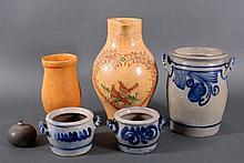 Konvolut Keramiktöpfe