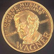 Goldmedaille Richard Wagner