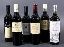 Konvolut 6 Flaschen Rotwein