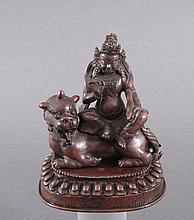 Skulptur der Göttin Mahakala, Tibet