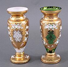 2 Murano Vasen, Italien 2. Hälfte 20. Jh.