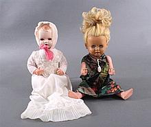 Zwei Schildkröt Puppen