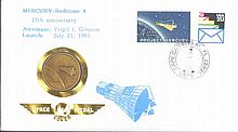 MOTIV Weltraum, MERCURY-Redstone 4, Space Medal Brief 1986