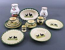 Posten Zeller Keramik, 14-Teile