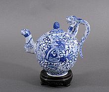Teekanne, China, Ende Qing-Dynastie