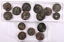 15 Römische Bronze-Münzen