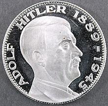 Medaille Drittes Reich - Adolf Hitler 1889-1945