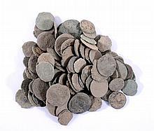 Römische Münzen, über 100 Stück. Fundmünzen