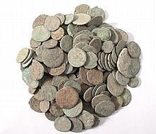 Römische Münzen, über 150 Stück. Fundmünzen