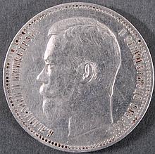 Russland 1 Rubel 1897 Zar Nikolaus II