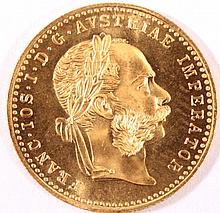 Österreich 1 Dukat Franz Joseph I. 1915