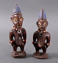 Yoruba Figurenpaar, Mumuye/Nigeria um 1920