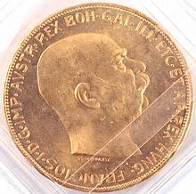 100 Kronen, Österreich Gold 1915