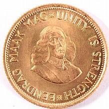 2 Rand Goldmünzen, Südafrika 1966