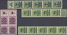 1923 Deutsches Reich INFLA, OPD-Lokaldrucke mit ABART!