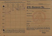 EICH, SA-AUSWEIS von 1935, Standarte 6, Brigade 150