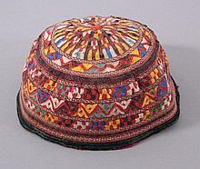 Mütze aus Usbekistan 19. Jh.