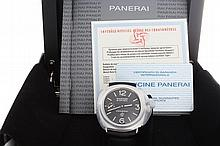 Gents Limited Edition Panerai Black Seal PAM 380 Watch