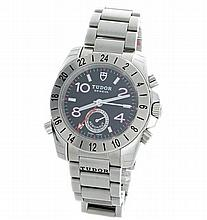 Stainless Steel Mens Tudor Aeronaut GMT Ref 20200 Watch