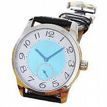 Men's Stainless Steel Genesee Watch Co Wristwatch