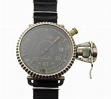 Rare and Unusual Oversized Leonidas Military Pilot Watch