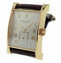 Limited 18K Rose Gold Patek Philippe Tiffany Pagoda Watch