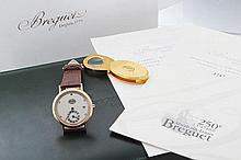 Limited Men's 18k Pink Gold Breguet Regulator Watch