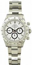 Stainless Steel Rolex Daytona Cosmograph Watch Ref 16520